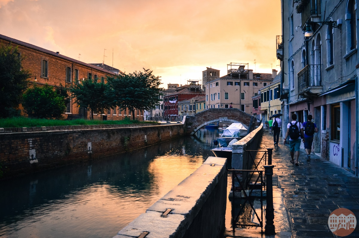 Venice when it rains