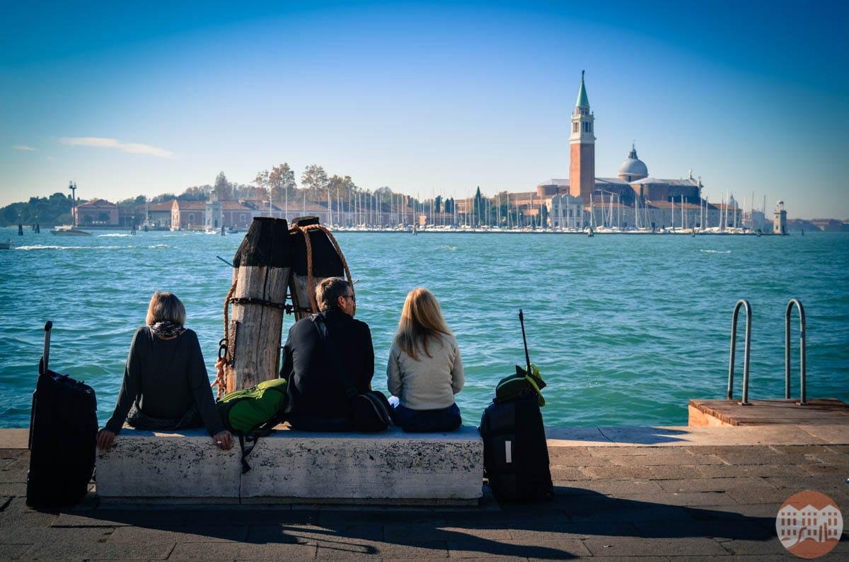 arrivare a Venezia