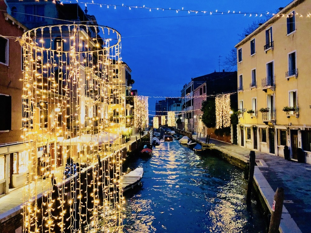 Venice At Christmas 2021 Strolling About Venice During Christmas My Venice Apartment